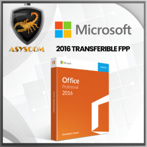 🦂  Licencia Office Home And Business 2016 TRANSFERIBLE FPP