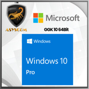 🦂 Licencia Windows 10 Pro GGK 10 64Bit