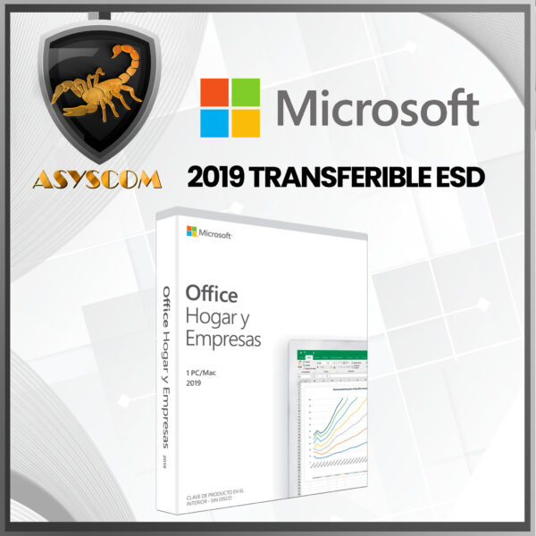 🦂 Licencia Microsoft Office Home and Business 2019 TRANSFERIBLE ESD