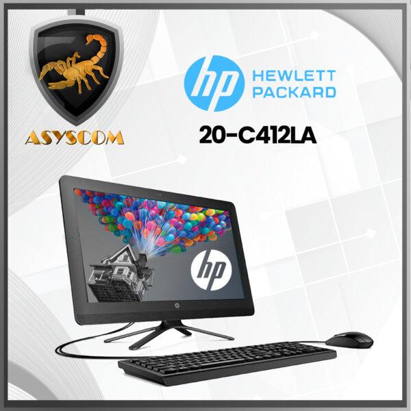 🦂 TODO EN UNO HP 20-C412LA –  INTEL CELERON J4005 – 1 TERA – 4GB DDR4 – PANTALLA 19,5″