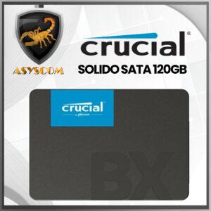 🦂 DISCO DURO ESTADO SOLIDO ⚡ SATA – 120GB – CRUCIAL