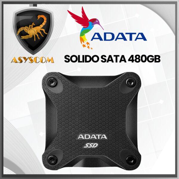 🦂 DISCO DURO ESTADO SOLIDO EXTERNO ⚡ 480 GB – ADATA – SD600
