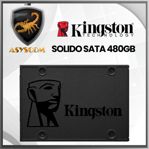 🦂 DISCO DURO ESTADO SOLIDO ⚡ SATA – 480GB – KINGSTON