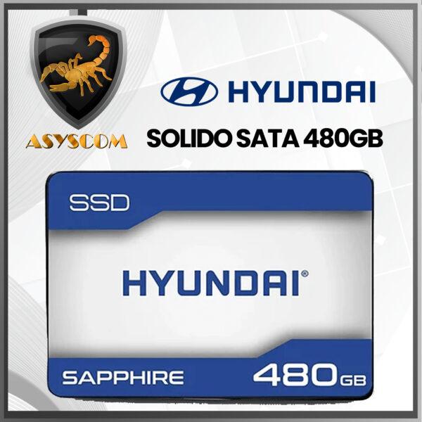🦂 DISCO DURO ESTADO SOLIDO ⚡ SATA – 480GB – HYUNDAI