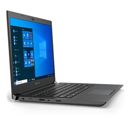 🦂 TOSHIBA TECRA A40-G ⚡ INTEL CELERON 5205U – SSD 128GB – DDR4 4GB – 14″ HD