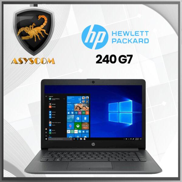 🦂 HP 240 G7 ⚡ INTEL CORE I5 1035G1U – 1 TERA – DDR4 4GB – 14″ HD – WINDOWS 10 PRO