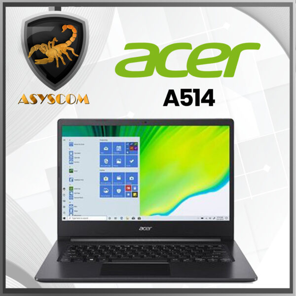 🦂 ACER A514 ⚡ INTEL CORE I3 1005G1 – 4GB DDR4 – 256GB SSD – PANTALLA 14″ FHD