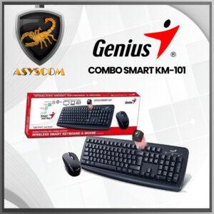 🦂  COMBO MOUSE + TECLADO ⚡ GENIUS SMART KM-101