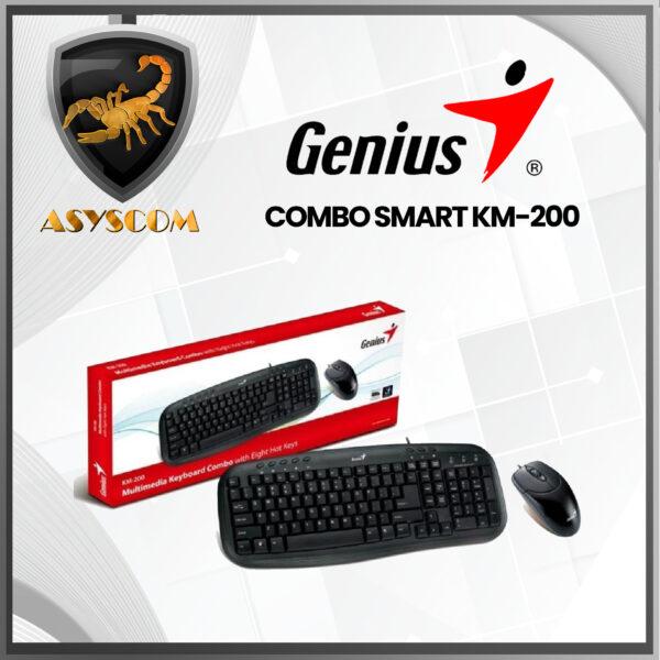 Accesorios -  - COMBO MOUSE TECLADO GENIUS SMART KM 200 600x600