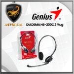 🦂 DIADEMA⚡  GENIUS HS-200C 2 Plug