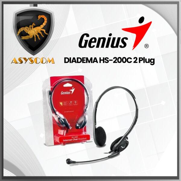 Accesorios -  - DIADEMA GENIUS HS 200C 2 Plug 600x600