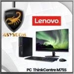 🦂 PC LENOVO ThinkCentre M75S ⚡ AMD RYZEN 5 PRO 3400G – 1 TERA – DDR4 8GB – MONITOR 21.5″ LI2215S – WINDOWS 10 PRO