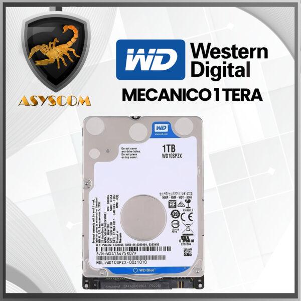 🦂 DISCO DURO MECANICO ⚡ 1000GB – WESTERN DIGITAL
