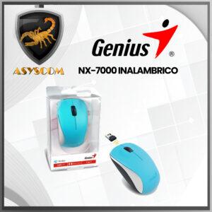 🦂 MOUSE INALAMBRICO⚡ GENIUS NX-7000 AZUL