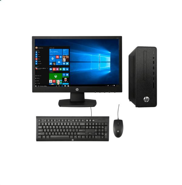 🦂 PC HP 280 G5 SFF ⚡ INTEL CORE I3 10100 – 1 TERA – DDR4 4GB – Monitor 18.5″ V194 – WINDOWS 10 PRO
