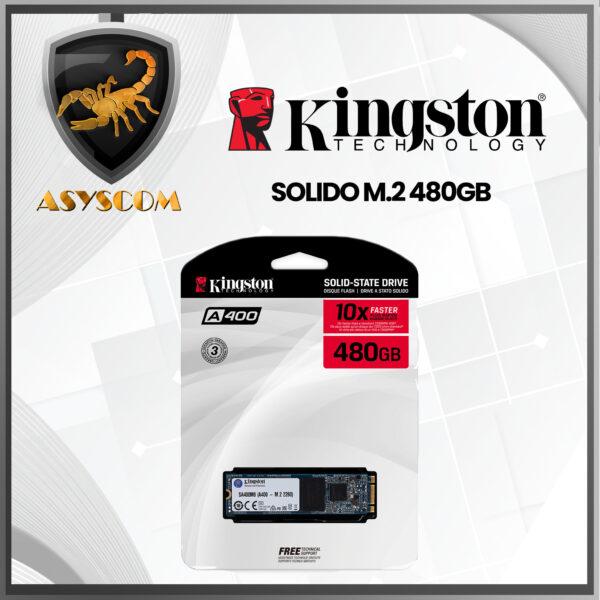 🦂 DISCO DURO ESTADO SOLIDO ⚡ M2 – 480GB – KINGSTON