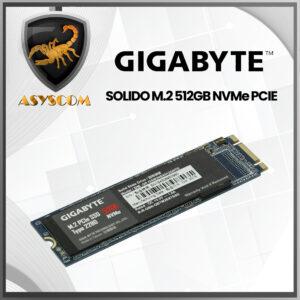 🦂 DISCO DURO ESTADO SOLIDO ⚡ M2 NVMe PCIE - 512GB - GIGABYTE