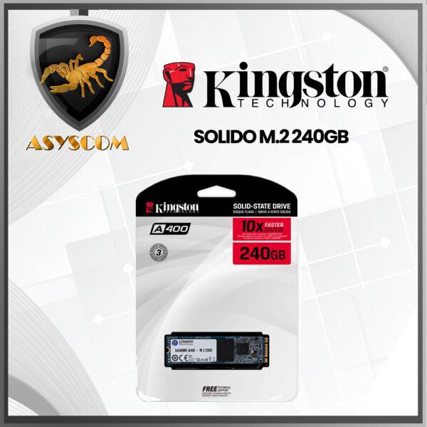 🦂 DISCO DURO ESTADO SOLIDO ⚡ M2 – 240GB – KINGSTON
