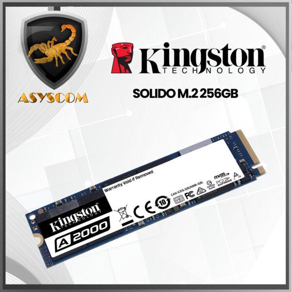 🦂 DISCO DURO ESTADO SOLIDO ⚡ M2 – 256GB – KINGSTON
