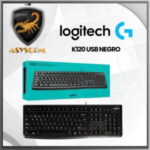 🦂 TECLADO ⚡ LOGITECH K120 USB NEGRO