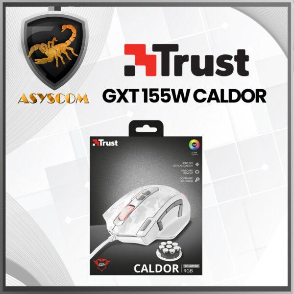 🦂MOUSE GAMER⚡ ALAMBRICO TRUST GXT 155W CALDOR