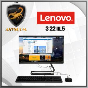 🦂 LENOVO AIO 3 22 IIL5 ⚡ INTEL CORE I3 1005 G1 (1.2GHz) - 8GB 1TB