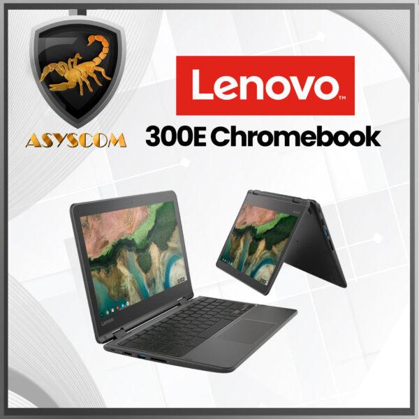 🦂 LENOVO 300E Chromebook 2nd Gen ⚡ AMD A4-9120C –  Disco EMMC 32GB – DDR4 4GB