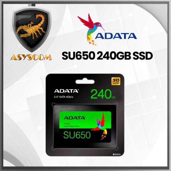 🦂 DISCO SOLIDO ⚡ SATA 2.5 240GB ADATA