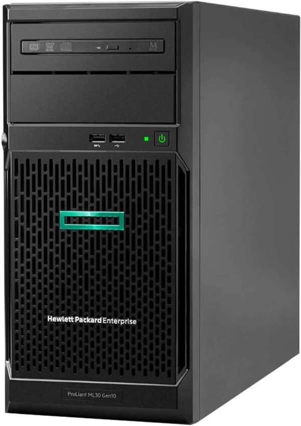 🦂 SERVIDOR HPE ML30 Gen10 ⚡  INTEL XEON E-2224 3.4GHz –  RAM DDR4 16GB –  DISCO DURO 1 TB SATA