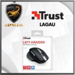 🦂 MOUSE INALAMBRICO ⚡ USB TRUST LAGAU PARA ZURDOS