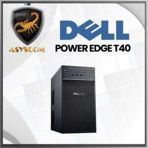 🦂 DELL POWER ⚡ EDGE T40  Intel Xeon E-2224G 3.5GHz –  RAM DDR4 8GB –  DISCO DURO 1 TB