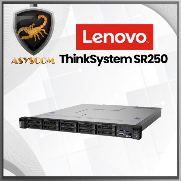 🦂 LENOVO ThinkSystem ⚡ SR250 –  Intel Xeon E-2224G 3.5 GHz –  Ram DDR4 16GB –  Disco SATA 2 TB 7.2K