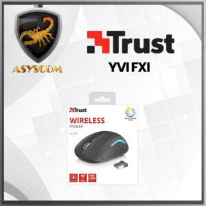 🦂 MOUSE INALAMBRICO ⚡ USB TRUST YVI FXI NEGRO
