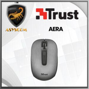 🦂 MOUSE INALAMBRICO ⚡ USB TRUST AERA METALIZADO