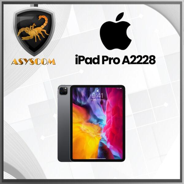 🦂 iPad Pro ⚡ (2a generación) A2228 –  Pantalla 11″ –  Procesador A12Z –  Almacenamiento 128 GB